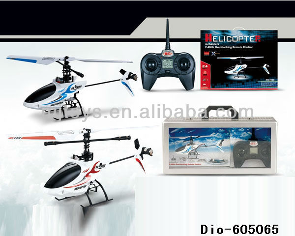 2.4G 4CH alloy series rc helicopter indoor and out door used