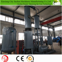 low cost waste plastic recycling plant refinery used oil /black oil / crude oii to diesel