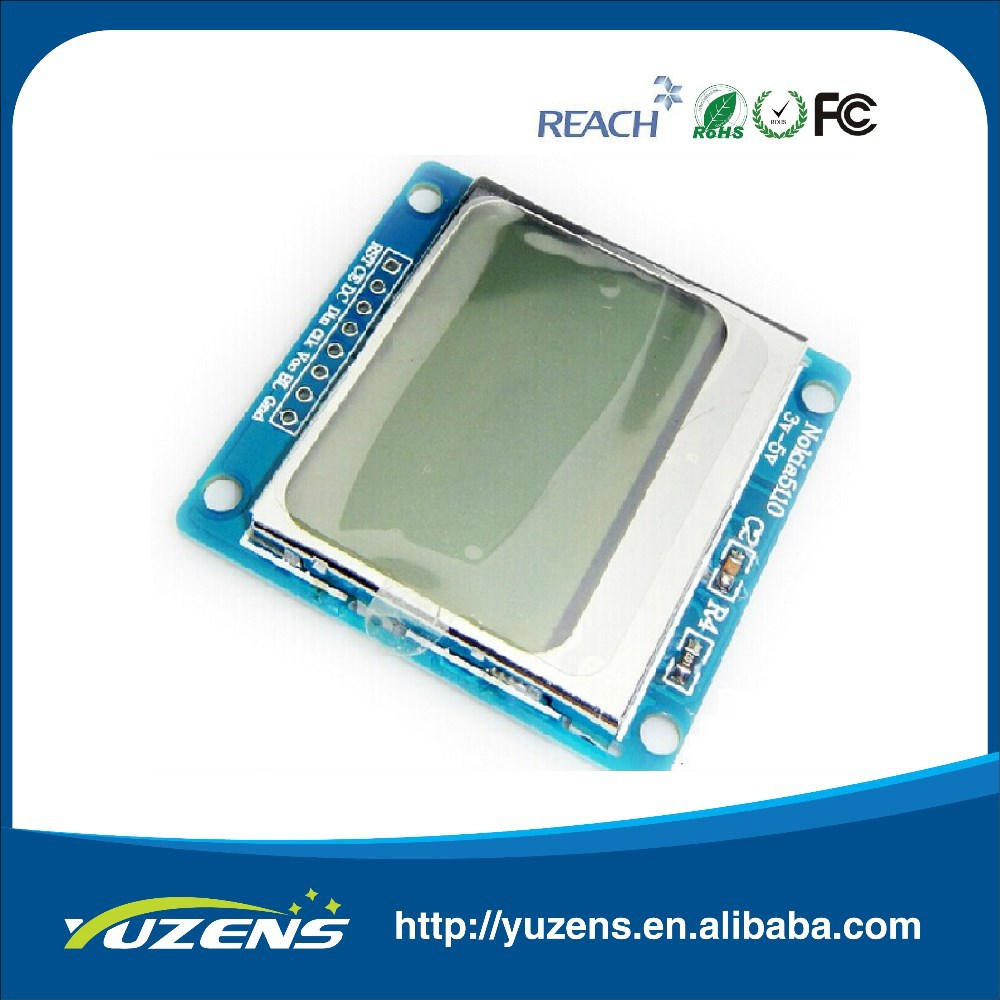5110 LCD module 1.6 inch Compatible to 3310 LCD