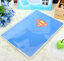 Hot sale Custom transparent plastic pvc book cover