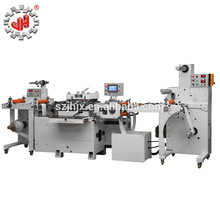 JH-320 high speed pvc film roll to roll rotary die cutting machine, digital falt bed label die cutter