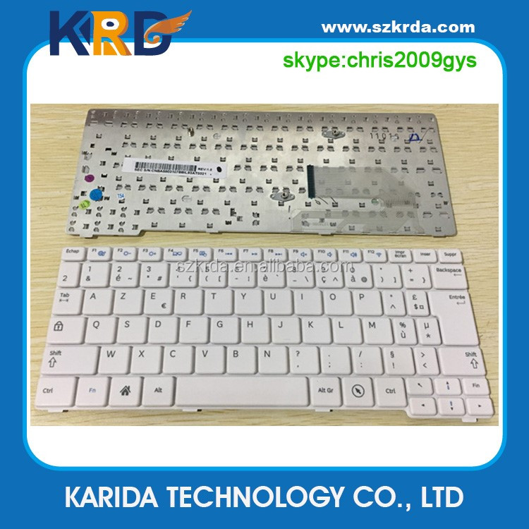 Wholesale laptop keyboard for Samsung N148 N150 NB30 N128 N145 NP-N145 FR white notebook