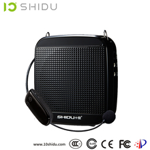 portable 18w powerful 2.4G wireless professional power amplifier box with high quality headset microphone for tour guide
