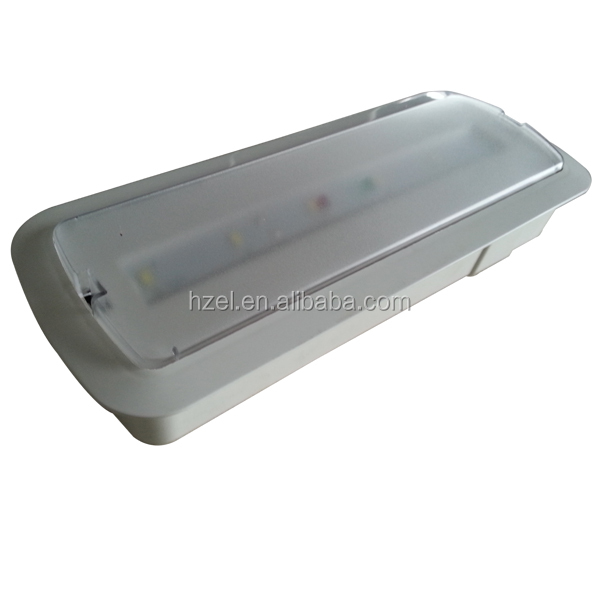 Wall Recessed Emergency Led Bulkhead Light Fitting