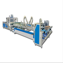 New condition corrugated paperboard carton box making machine prices