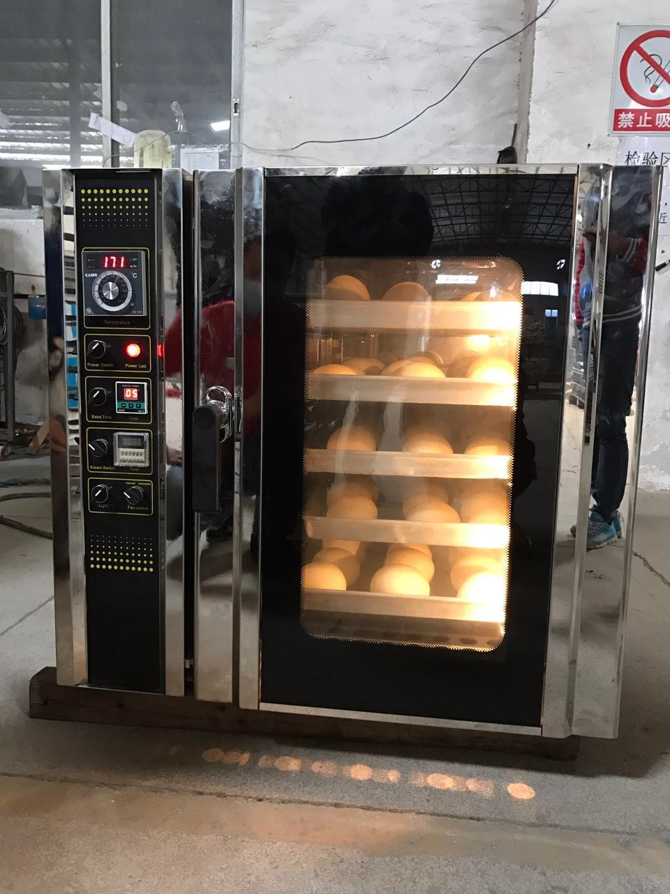 New Design 10 Trays Small Electric Convection Oven Bakery Equipment