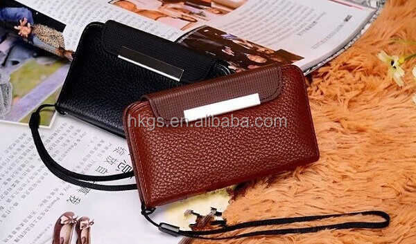 New Stuff Two Color Wallet For Vodafone Smart 4 Mini V785 785 Leather Case