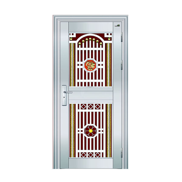 Latest style stainless steel grill storm doors exterior security