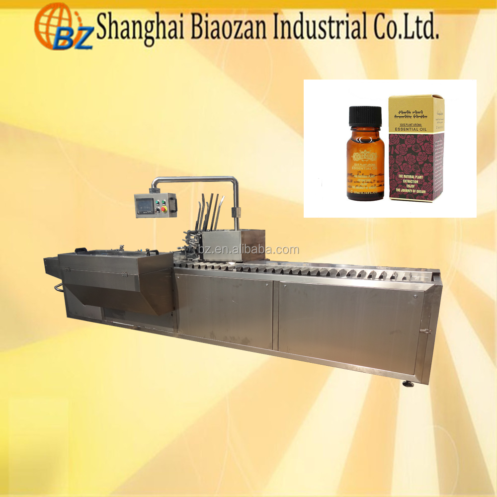 Fully Automatic Medicine Bottle Carton Box Packing Machine,Cosmetic Bottle Box Packing Machine