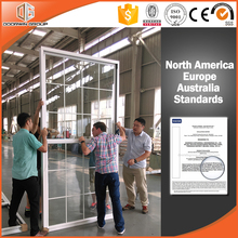 Ultra large American style single hung/double hung glazed window for North America
