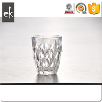 Wholesale Crystal Diamond Shape Water Goblet