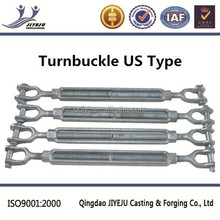 Meet Federal specification US type Hot dip galvanized turnbuckle jaw & jaw