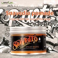 New natural hair styling cream pomade strong hold Hair gel wax