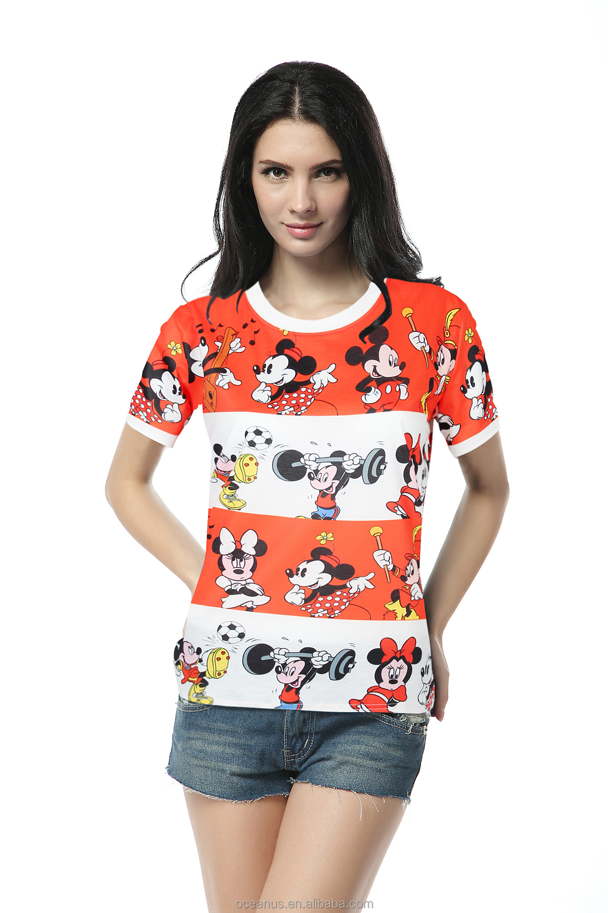 Hot selling wholesale t-shirts bulk cheap t shirts printing for wholesale