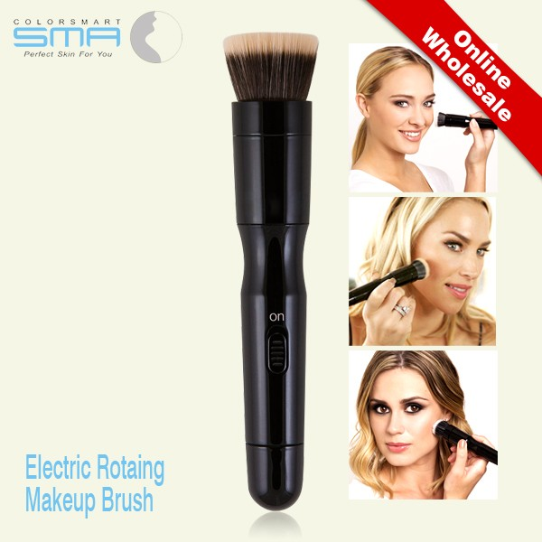 New arrival electric automated rotating beauty tool online with replaceable brush heads for women
