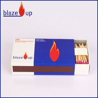 Factory safety matches waxed paper matches for sale