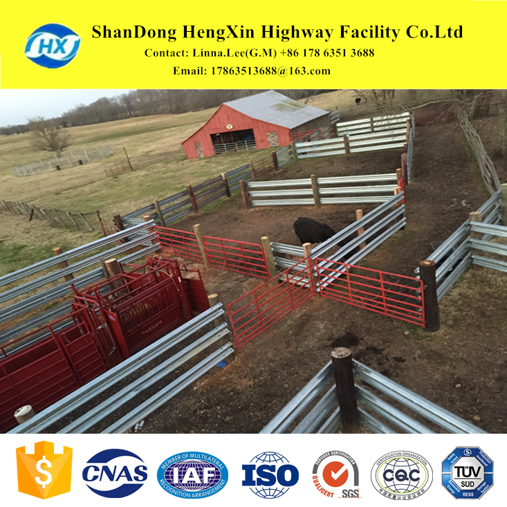Horse Cattle Pig Donkey sheep Agriculture livestock Galvanized Metal Steel Farming Fence farming fencing and farm fencing