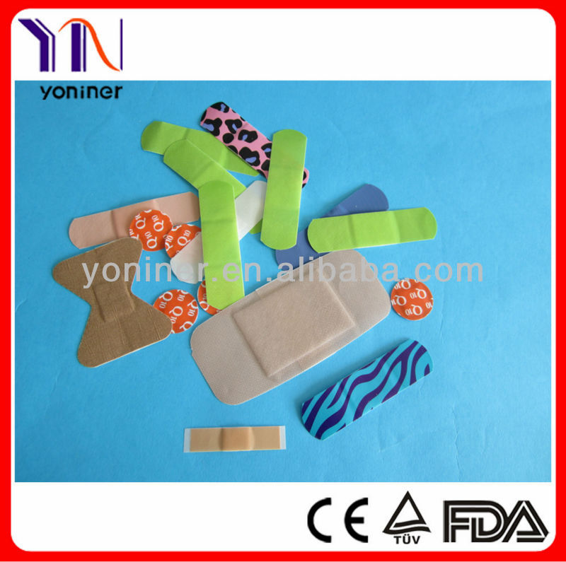 different shape band aid plaster