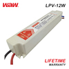 WODE Ce Standard Factory Waterproof 12W 12V 1A Power Supply Led Driver