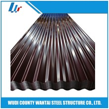 Hot rolled color gi galvanized corrugated iron sheet