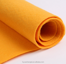 Colored wool pressed nonwoven felt,customized thickness wool felt