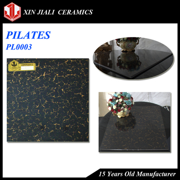 600x600x8.5mm China JiaLi PL0003 Manufacturer Supply Pilates High Strength Seamless Polished Porcelain Floor Tile