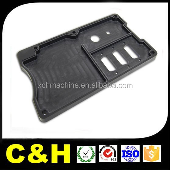 high quality plastic machining product housing panel