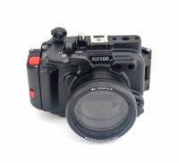 Meikon 100M/325F for Sony rx100 Alumimium Camera Waterproof case