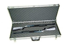 Hard shell waterproof shockproof aluminum gun rifle case