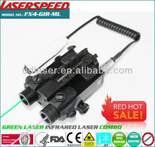 subzero outdoor hungting rifle mounted GREEN LASER+INFRARED night vision laser sight,wholesale hunting equipment
