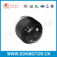 110V 220V 92mm induction capacitor running AC fan motor for air purifier