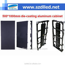 new product 500*1000mm die-casting full color for rental indoor p5.21 led display