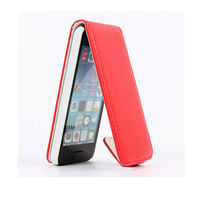 312 24h SALE 2013 Hot selling flip leather case for iphone5c
