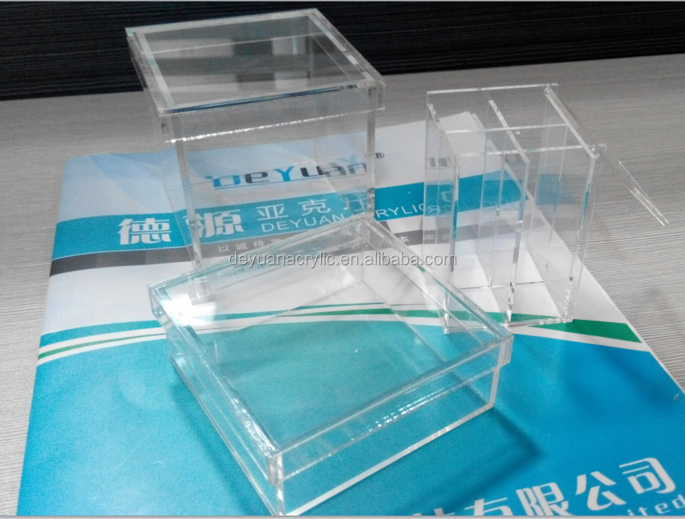 Mini Acrylic Candy Box,Candy Storage Box With Lids Plexiglass