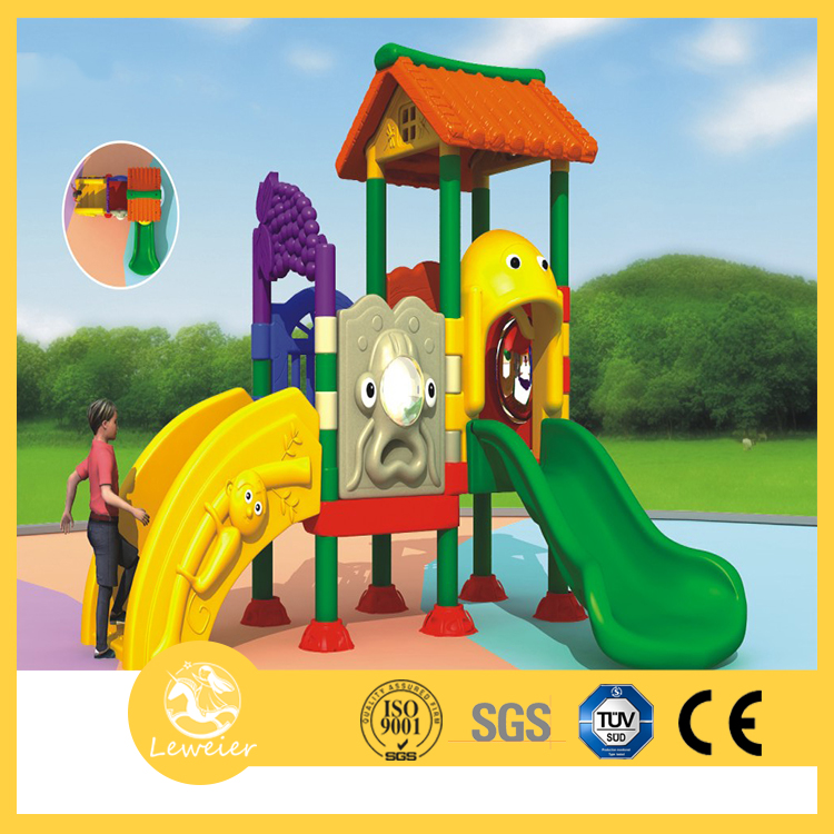 outdoor children playground equipment long playground slide for garden