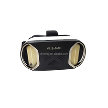 Low price Fashion 3D VR box headsets 3d vr glasses accepting private label vr headset glasses