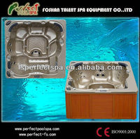 2014 China Luxury cheap Whirlpool bathtub LED massage bathtub endless swim spa whirlpool spa