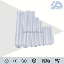 disposable medical supplies plastic test tube