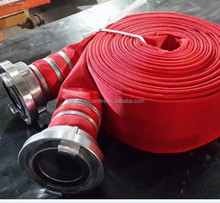 Layflat Fire Hose with Coupling