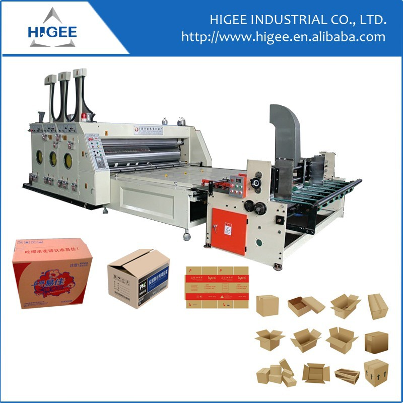 Baling box making Corrugated carton box making machine