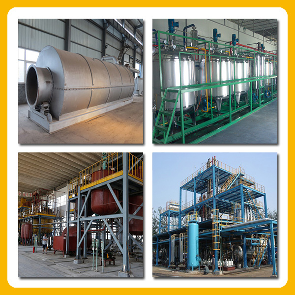 2016 Newest Waste Engine and motor oil or Waste Tire Oil Distillation Equipment