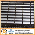 self-cleaning skid-resistant and economical galvanized or painted serrated bar grating stairs treads