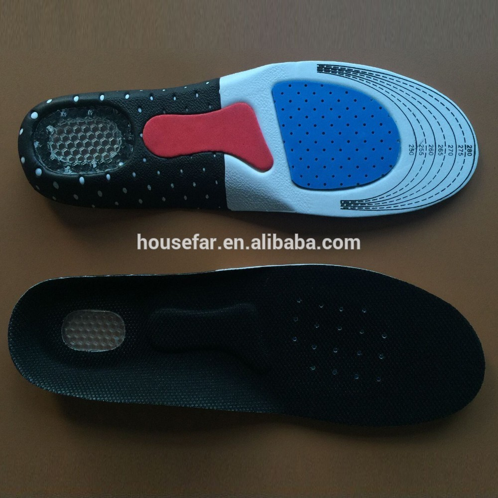 Comfortable Full Length Orthotic EVA Insole EVA Removable Insole Molded EVA insole