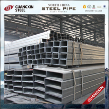 low carbon steel electronic galvanize steel pipe rectangular tube