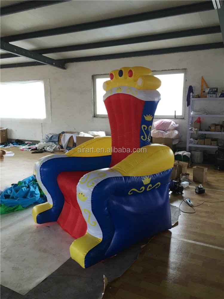 advertising inflatable sofa