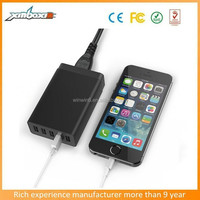 Universal Portable 8.0A 5 USB Ports Home Charger For Sansung/Iphone/Ipad