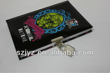 hot sale student agenda with lock /girl's agenda with lock