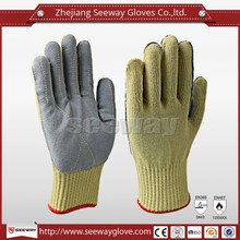 Seeway Cow Split Leather Welding Working Gloves
