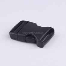 Flat Side Plastic Quick Release Buckles For Webbing Strap