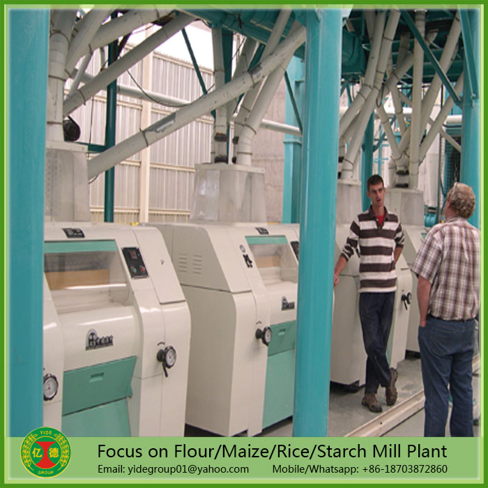 High cost-performance New style indian corn flour milling machine